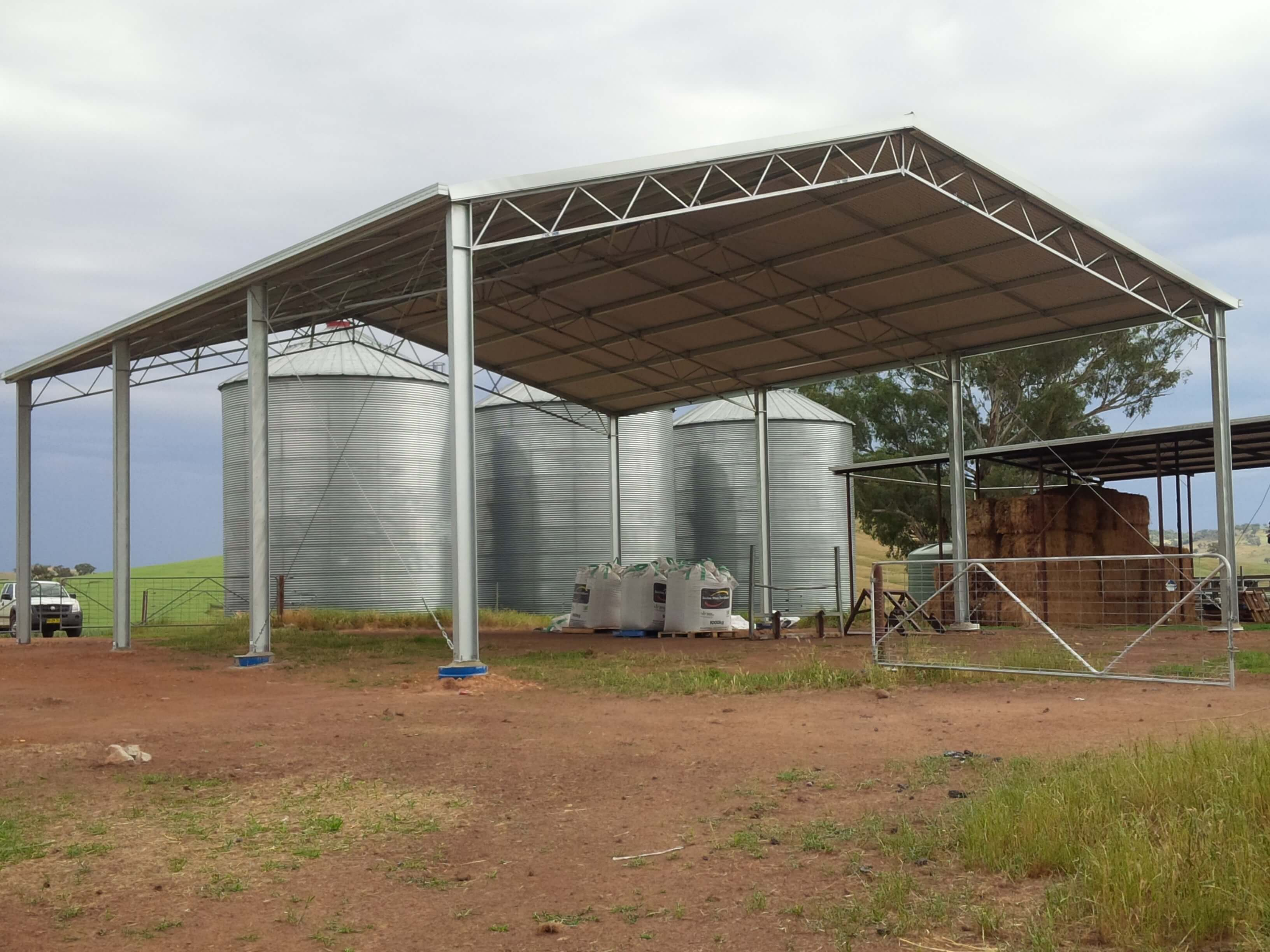 ABC Sheds stock shed sale  - roof only farm shed