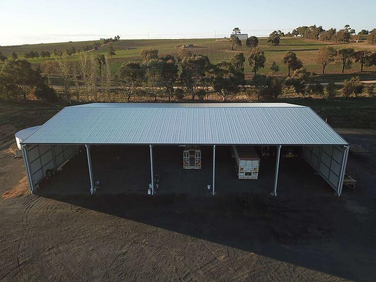 ABC Sheds - farm machinery shed