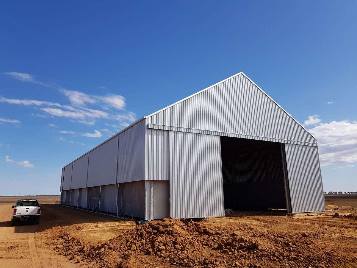 ABC Sheds grain shed