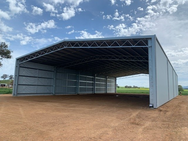 The process of building a shed in Australia