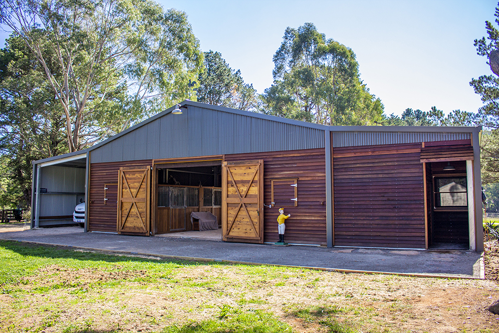 ABC Sheds barn horse stable