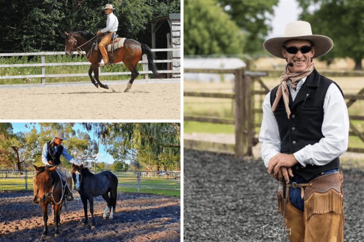 Horse trainer David Stuart