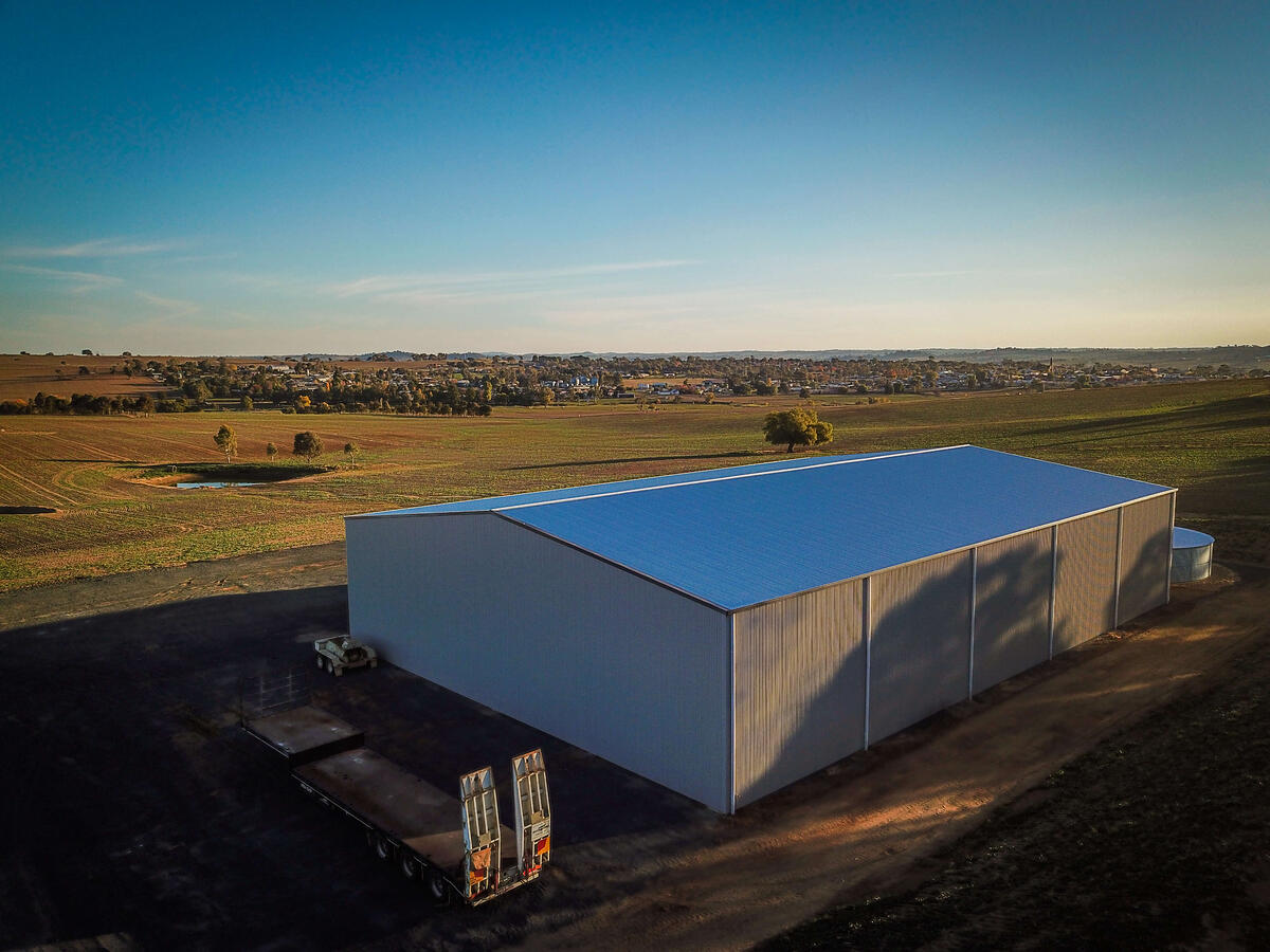 Farm shed by ABC Sheds Australia
