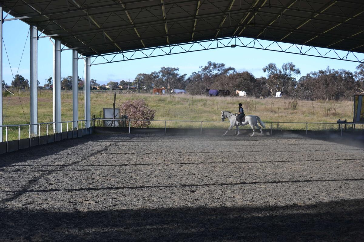 ABC Sheds horse arena