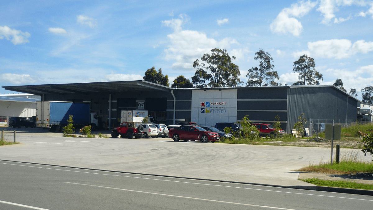 ABC Sheds food and beverage processing plant
