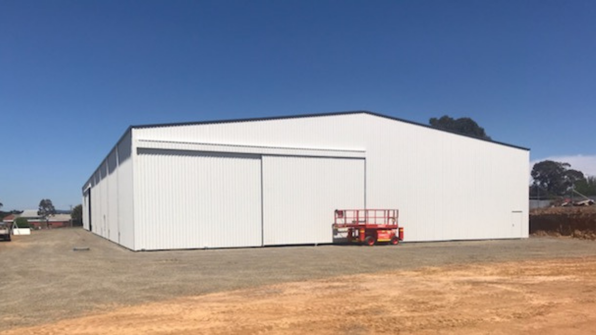 ABC Sheds manufacturing shed