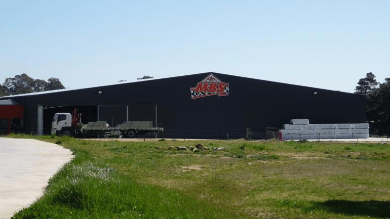 ABC Sheds warehouse