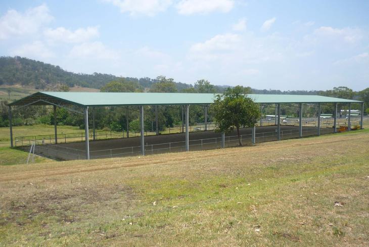 EOFY shed sale - horse arena