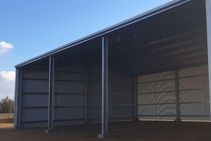 EOFY shed sale - 15m span farm shed