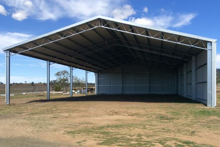 EOFY shed sale - 18m span farm shed