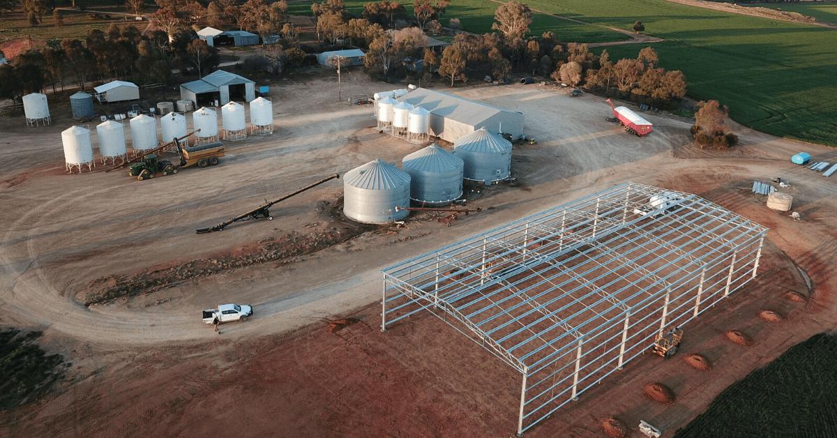 ABC Sheds structural steel frame shed