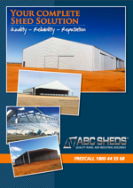 Download the free ABC Sheds brochure