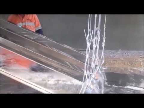 Hot-dip galvanising steel columns - ABC Sheds