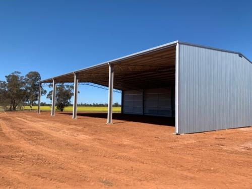 Hay shed by ABC Sheds