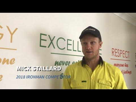 Mick Stallard Ironman - ABC Sheds
