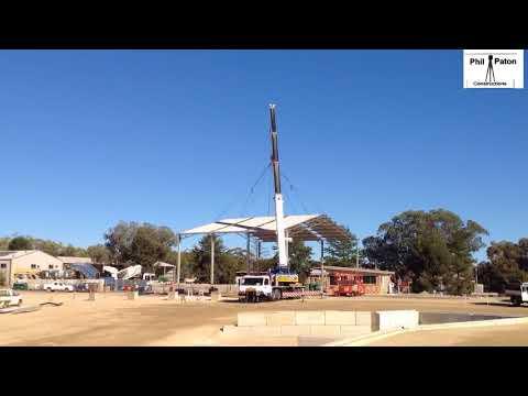 Shed erection time-lapse - ABC Sheds