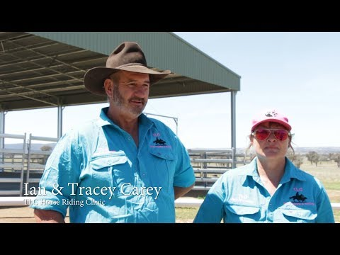 Ian and Tracey Carey | ABC Sheds testimonial
