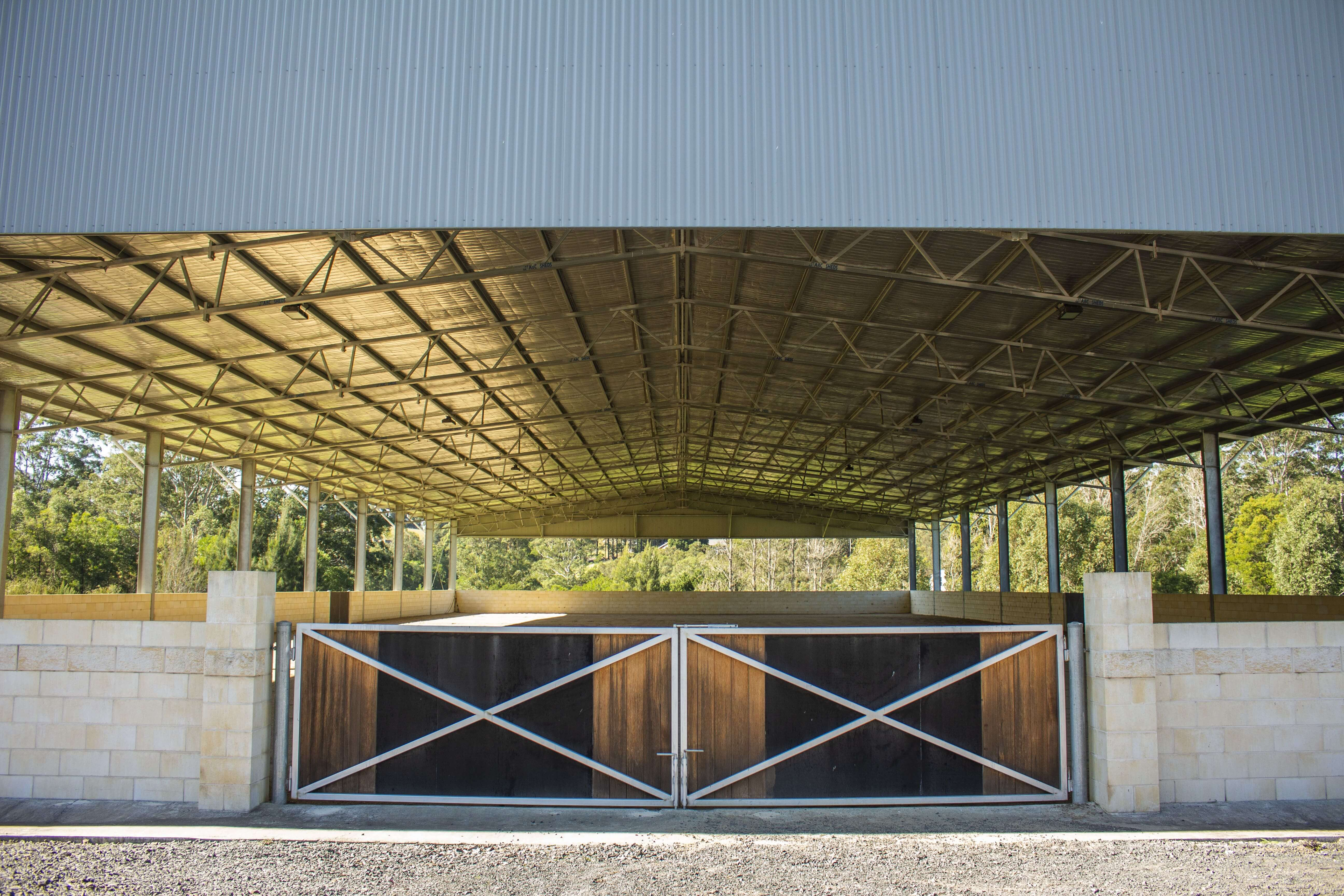Why a Covered Horse Arena Makes Perfect Sense