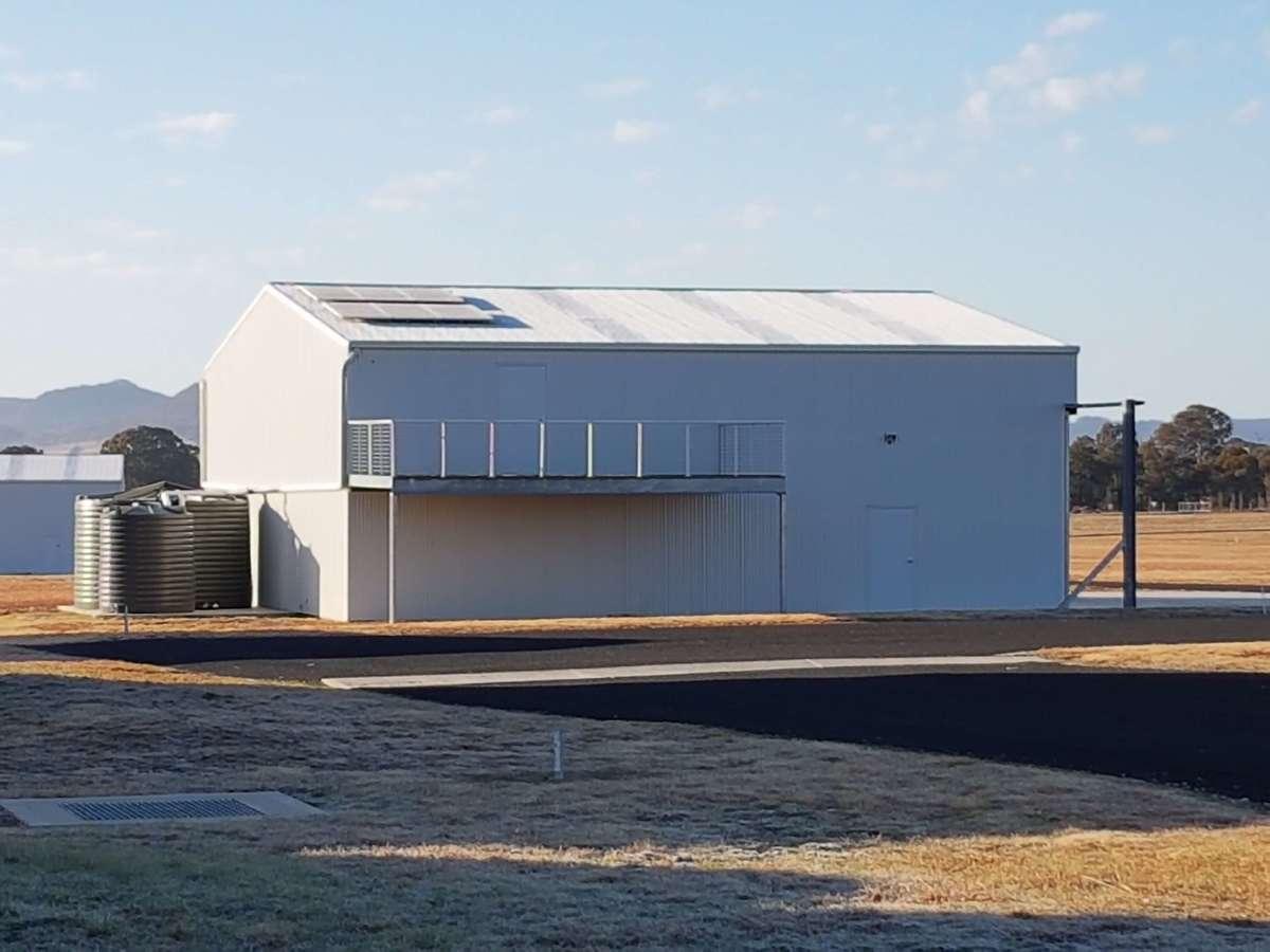 Aircraft hangar Rylstone