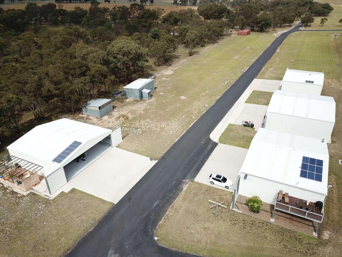 Aircraft hangars Rylstone