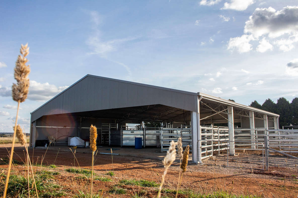 Yard cover - Crookwell