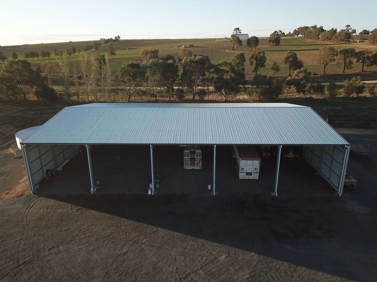 Top of farm shed - Harden