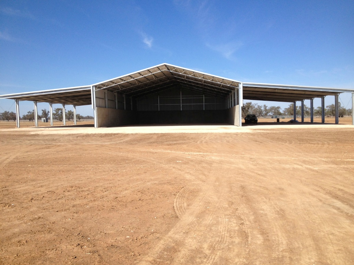 Grain shed in Walgett