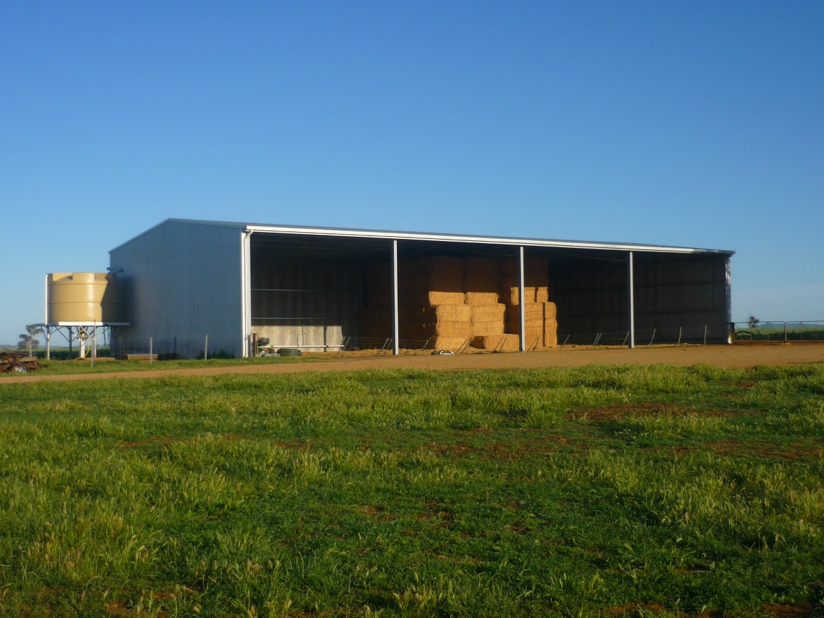 Hay shed - Canowindra