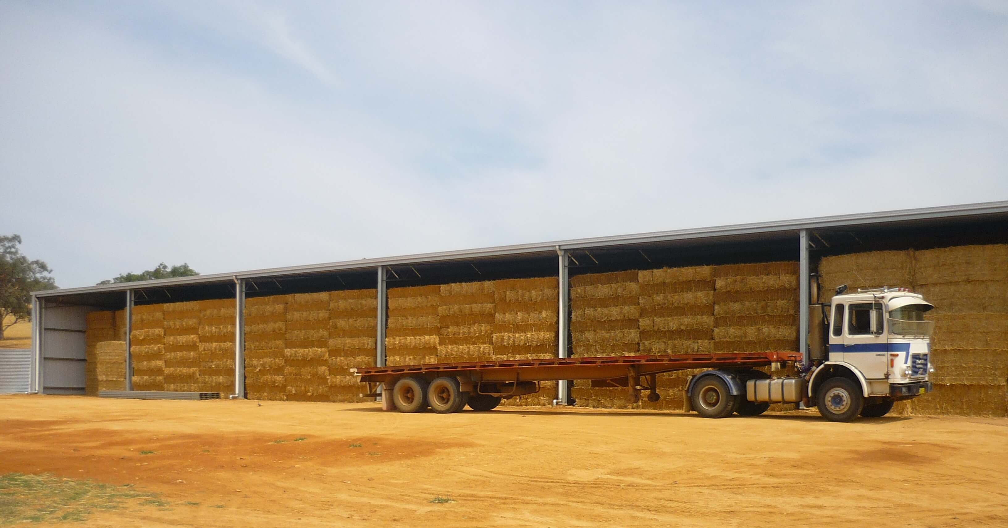 See how a hay shed saves you money