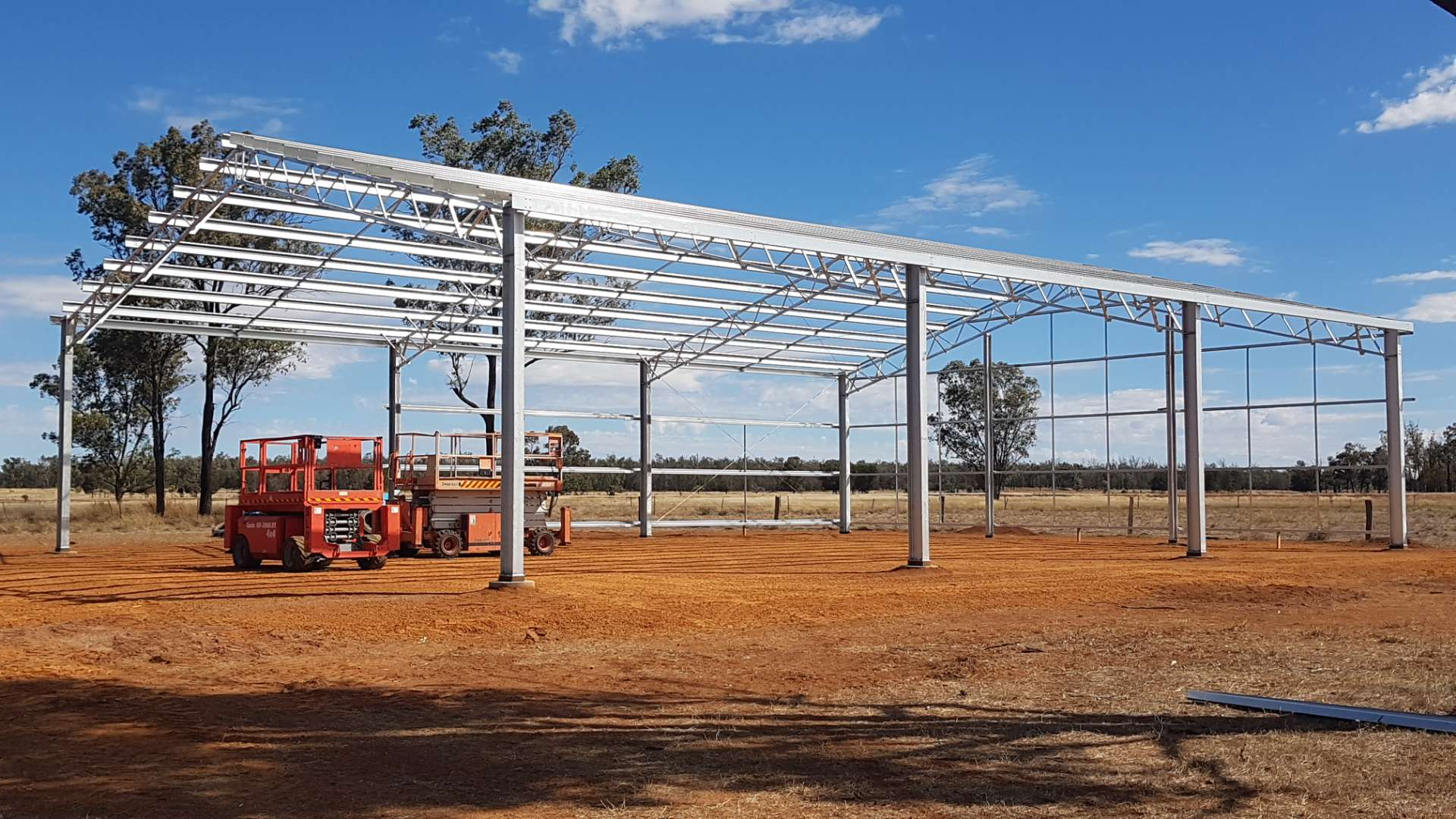 See how easy it is to assemble a steel kit shed