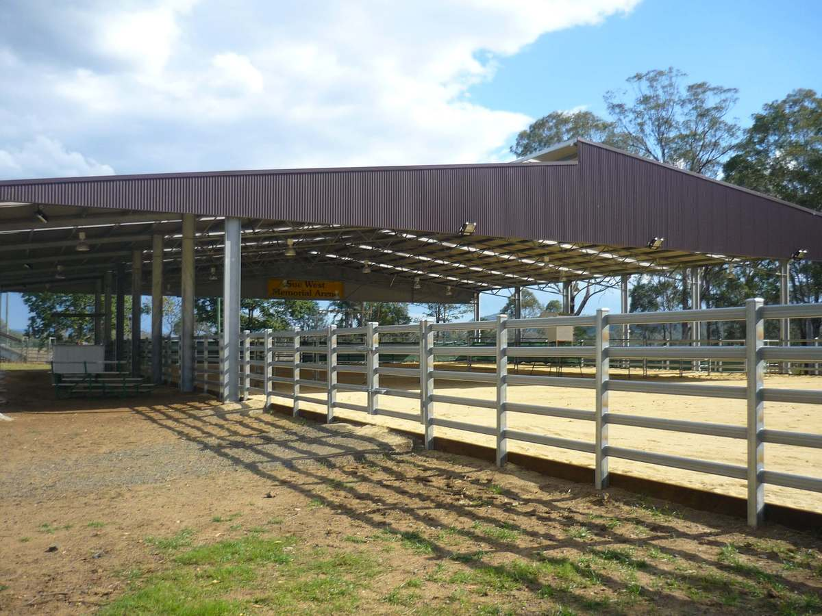 Dressage arena - Beaudesert