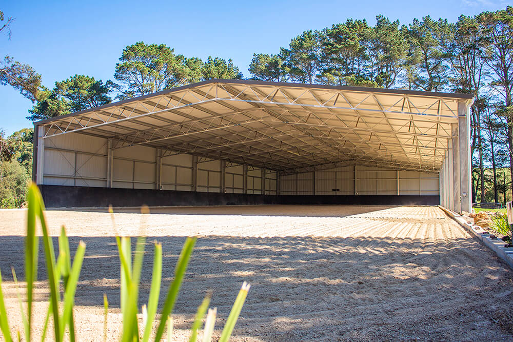 ABC Sheds dressage arena