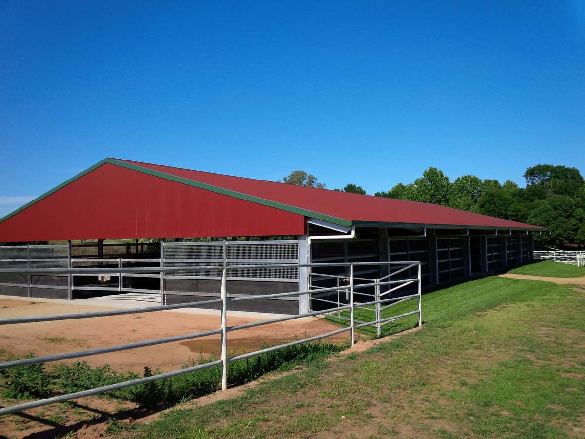 Horse stable - Boorowa - Slanted View