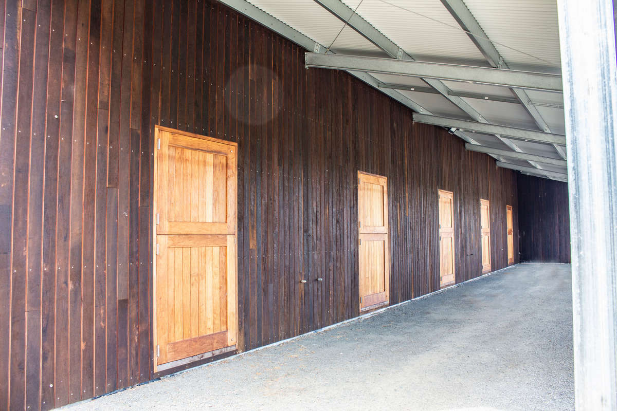 Horse stable - Mossvale - Closer View