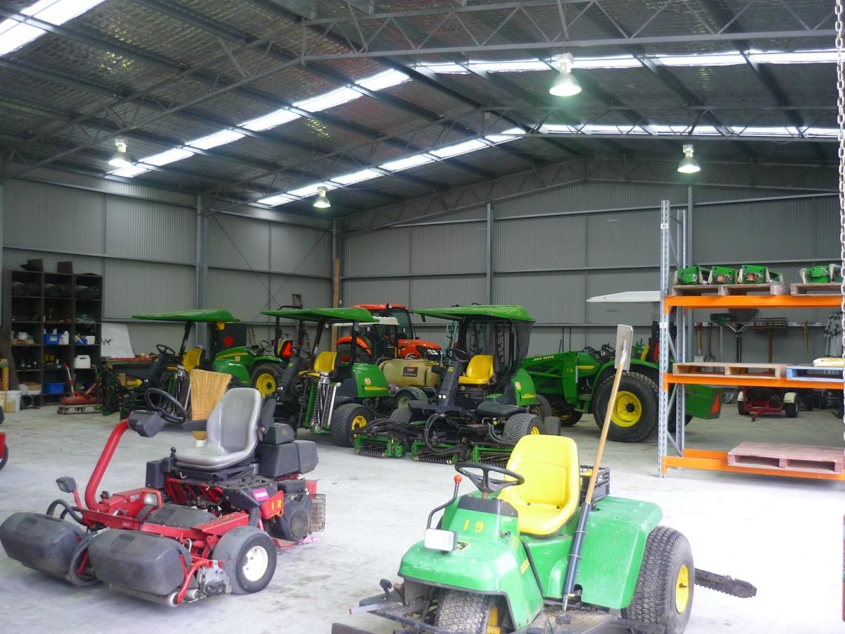 Inside workshop in Kurmond