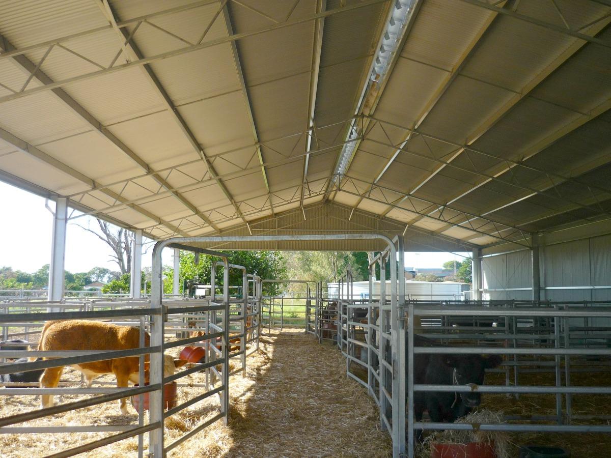 Inside yard cover in Finley