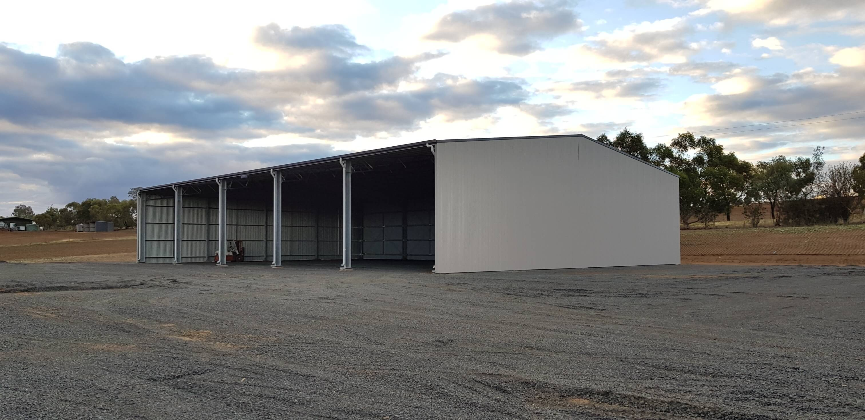 Structural steel shed Harden NSW