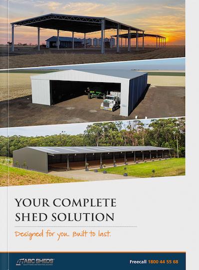 ABC Sheds free brochure