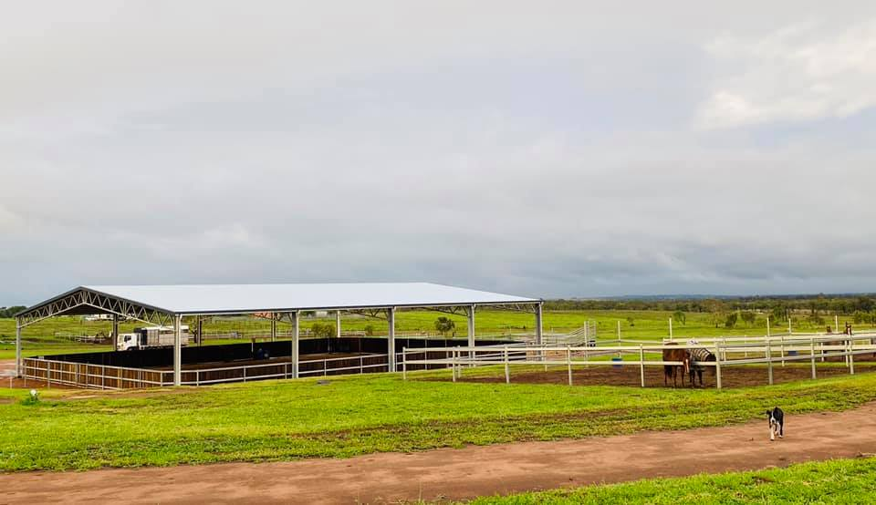 Learn how a covered horse arena is paying off for Abe Graham