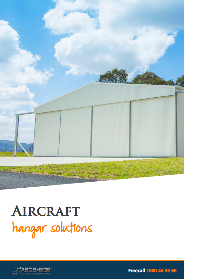 ABC Sheds aircraft hangars brochure