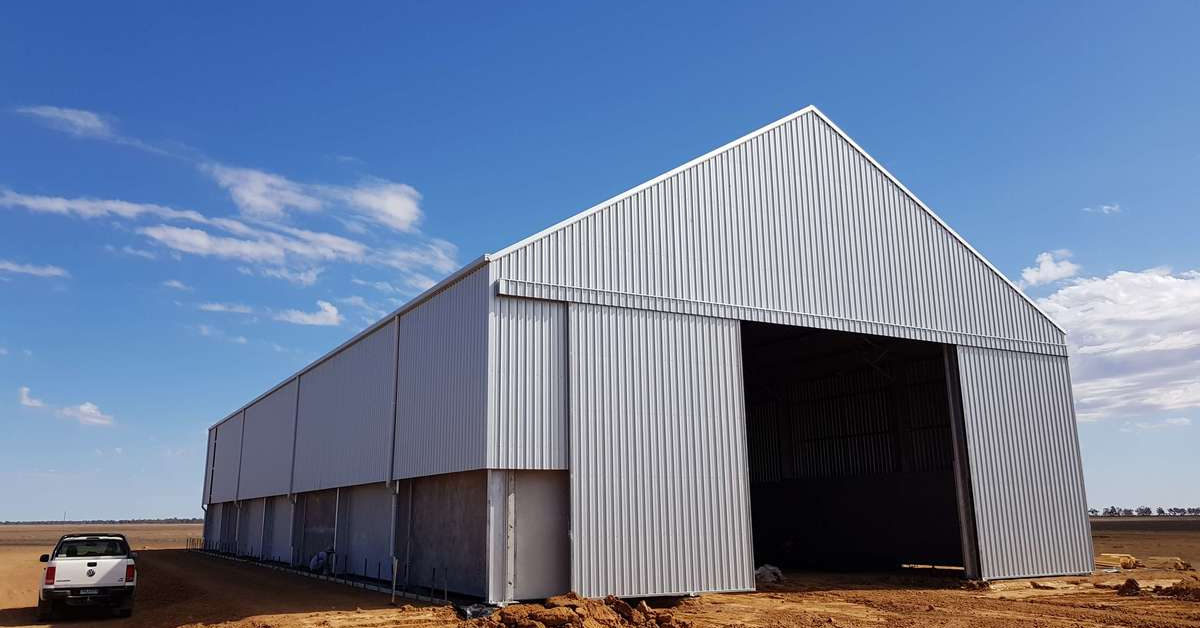 ABC Sheds grain storage shed