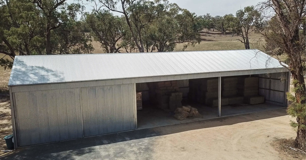Things that you should consider when building a hay shed