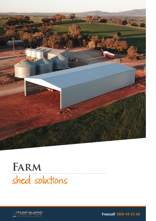 The ABC's farm sheds brochure