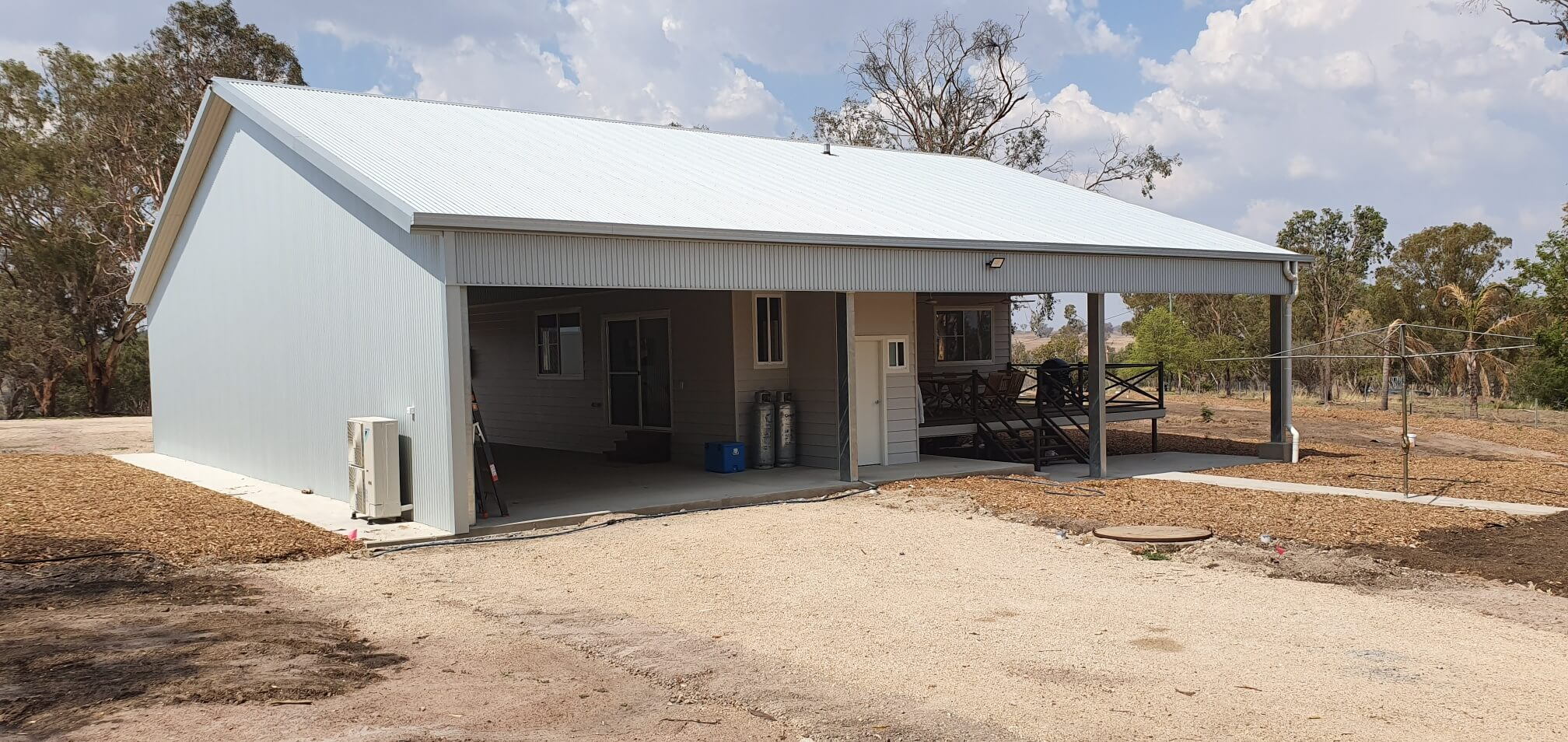 ABC Sheds structural steel shed in Inverell